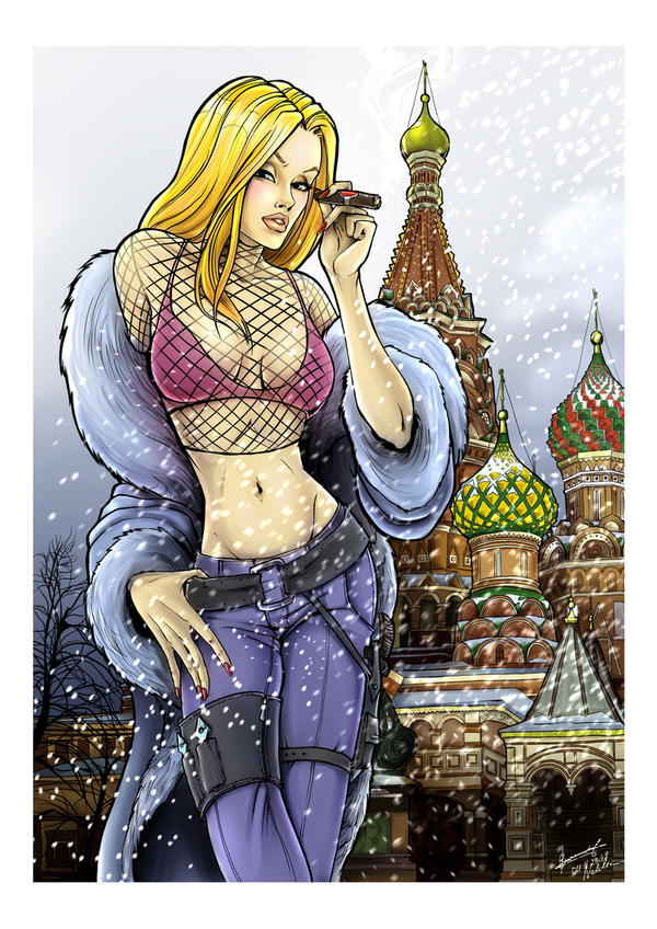 Natalia Kassle - Danger Girl by dr-kelso