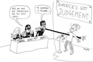 America's Got Judgement by marcobrunez