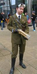 Dieselpunk Uniform by marcobrunez