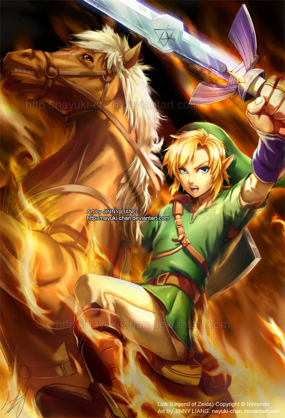 Link - Legend of Zelda by nayuki-chan