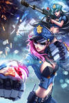 Officer Vi and Caitlyn - League of Legends