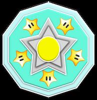 Rosalina Superstars Emblem by RafaelMartins