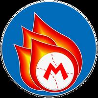 Mario Fireballs Emblem by RafaelMartins