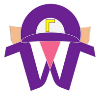Waluigi Spitballs Emblem by RafaelMartins