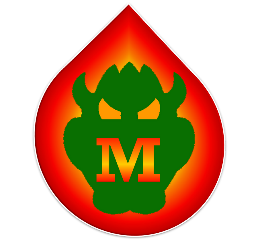Bowser Monsters Emblem by RafaelMartins