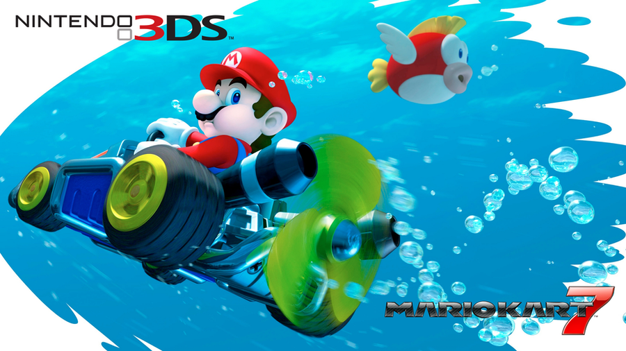mario kart 7 wallpaper by rafaelmartins on deviantart