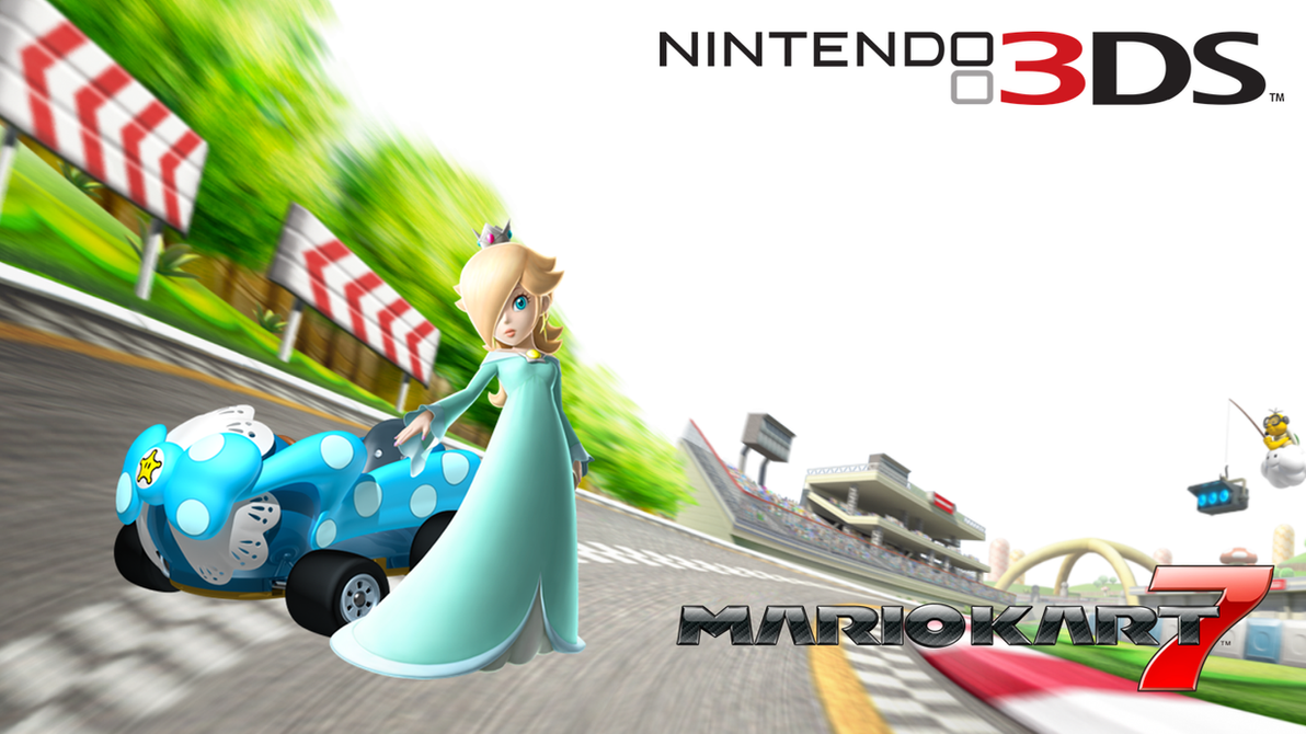 Rosalina Kart 7 Wallpaper by RafaelMartins