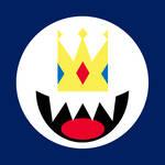 King Boo Kart Flag