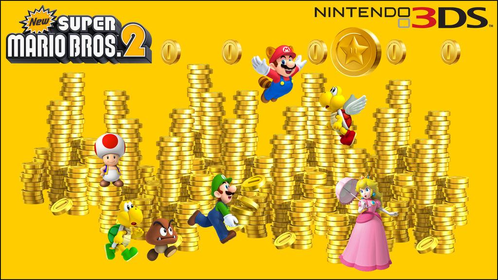New Super Mario Bros  2 Wallpaper by RafaelMartins on DeviantArt