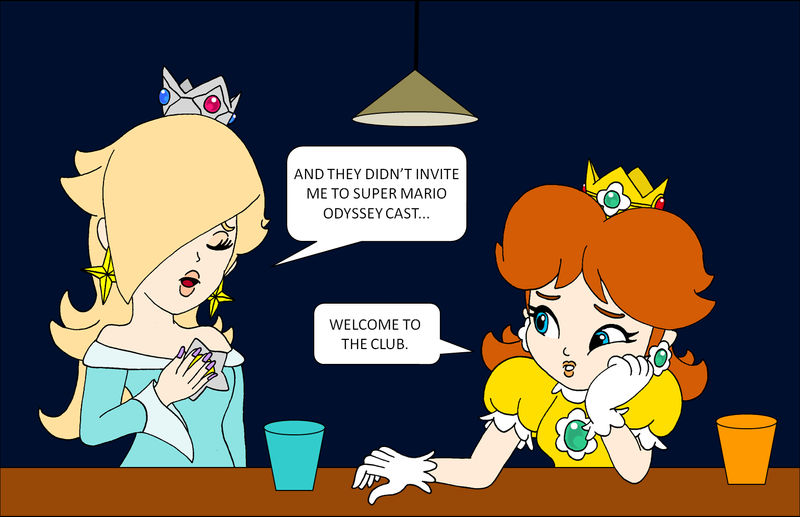 Rosalina S Disappointment By Rafaelmartins On Deviantart