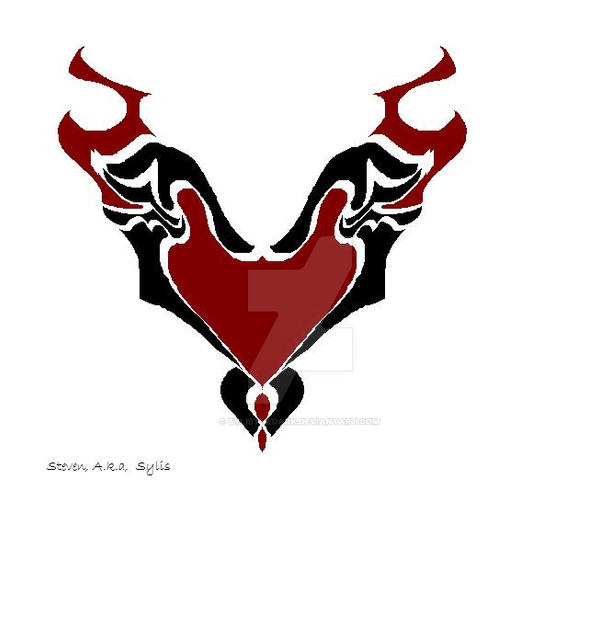 Gothic Heart With Wings by SylisTheDark on DeviantArt
