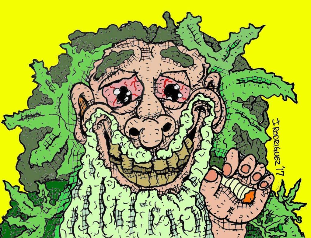 The Green Man by MacheteDildo