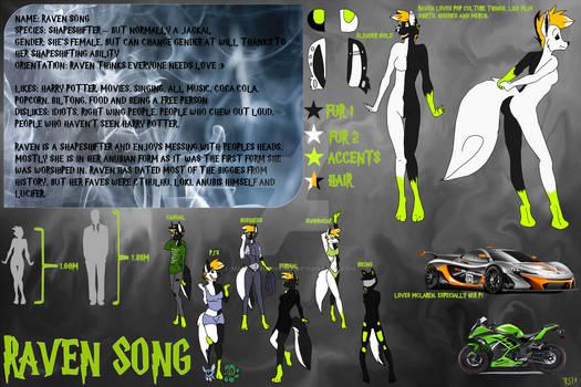 Raven Song Ref Sheet