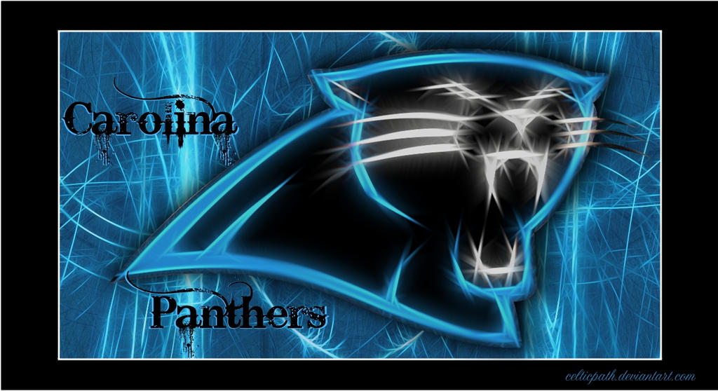 Carolina panthers wallpaper by celticpath on deviantart - Carolina panthers mobile wallpaper ...