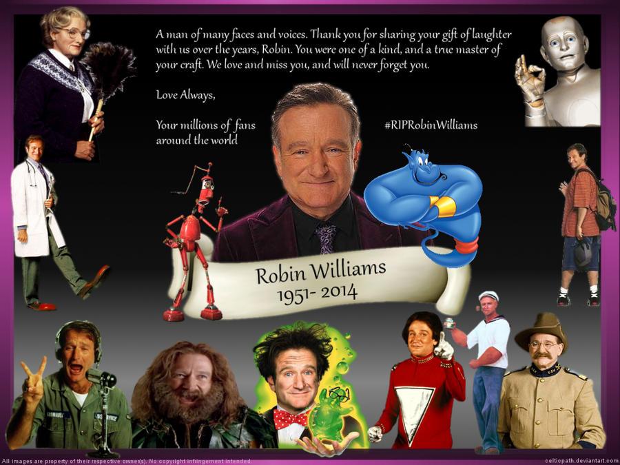 R.I.P. Robin Williams by celticpath