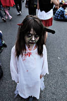 Zombie Little Girl by leandroaguirre