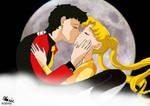 Seiya Usagi's kiss Goodbye