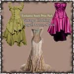 Vintage dresses by AngelMoon17