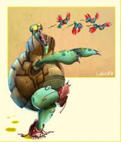 Zombie turtles are dangerous by AlexLandish