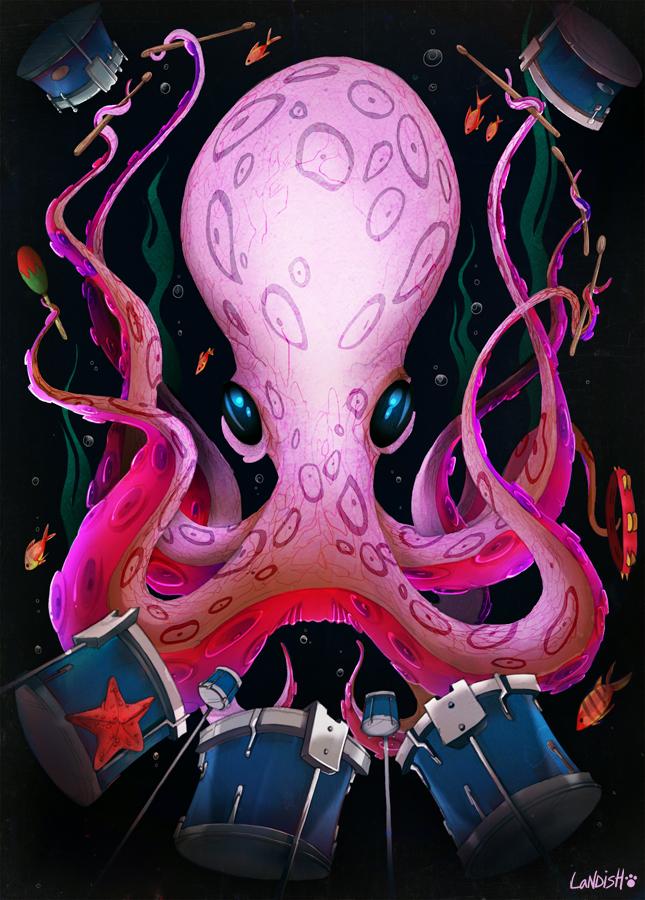 Octopus by AlexLandish