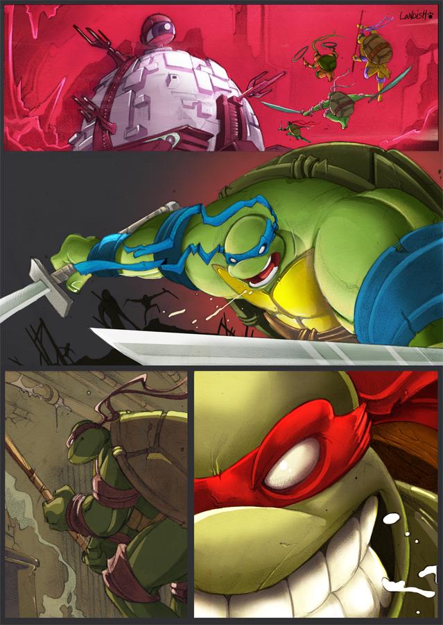 Turtle Power by AlexLandish