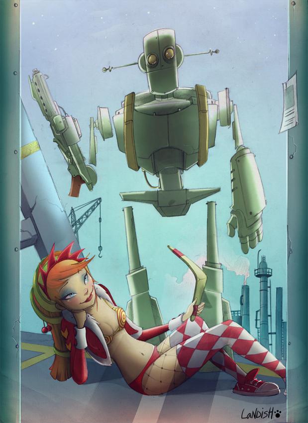 Robot love remake by AlexLandish