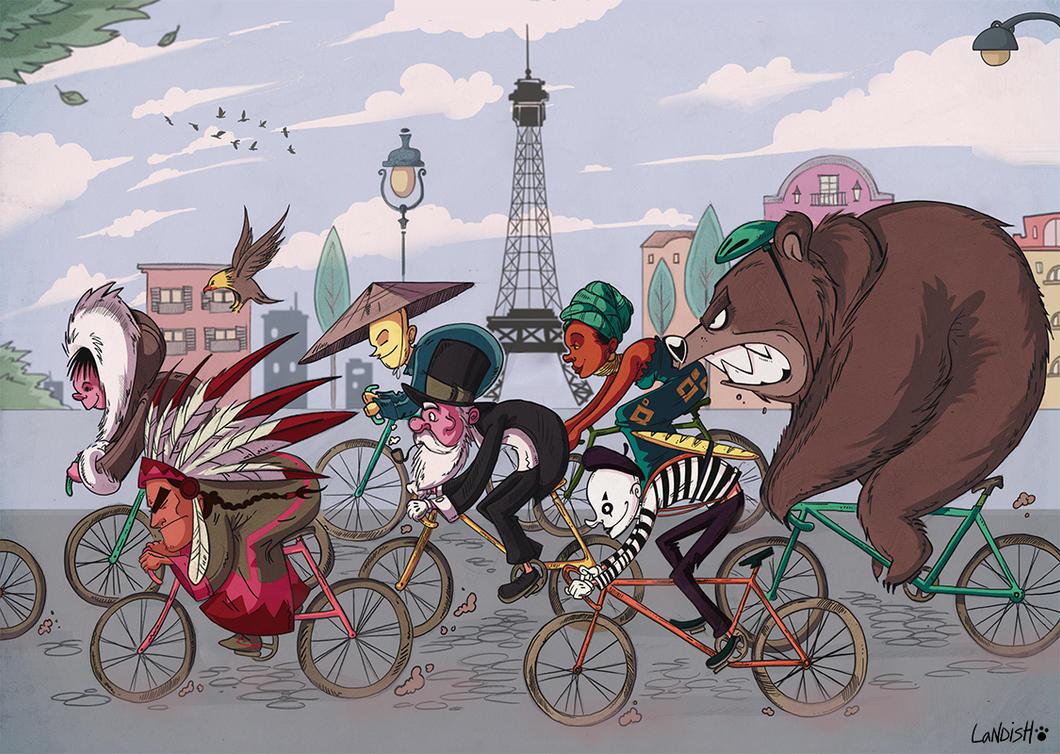 Tour de france by AlexLandish