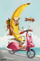 Banana ride by AlexLandish