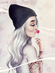 Candy girl by AlexLandish