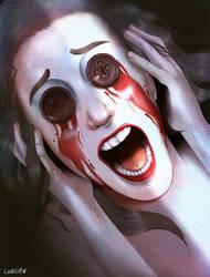 Scream in the dark by AlexLandish