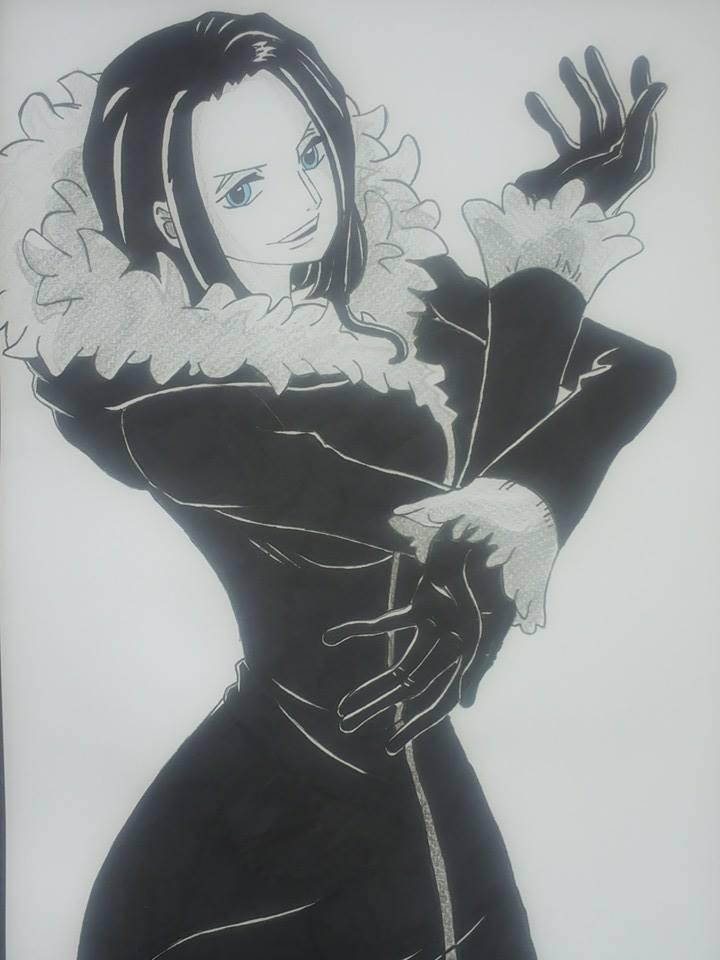 Nico Robin in Punk Hazard Arc by Mirza91