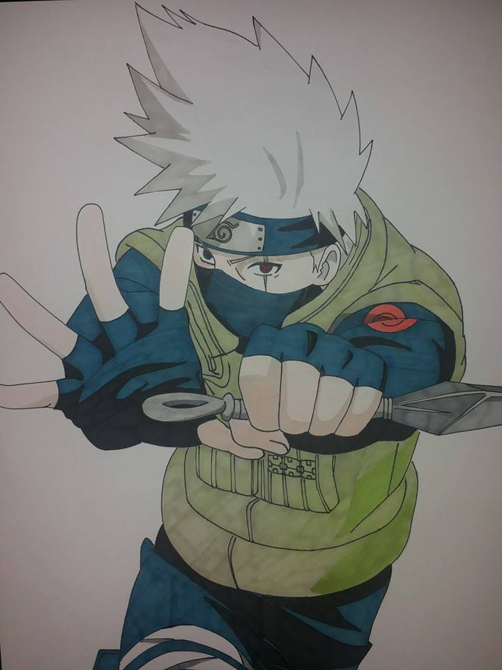 Kakashi Hatake 6th Hokage by Mirza91