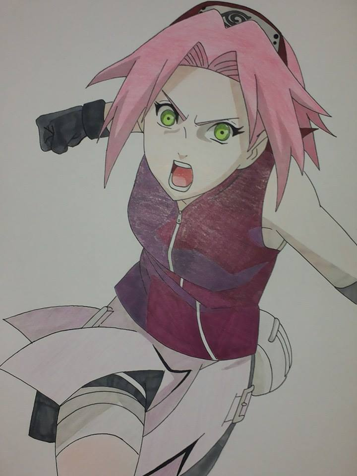 Sakura Haruno the flat-chest :D by Mirza91