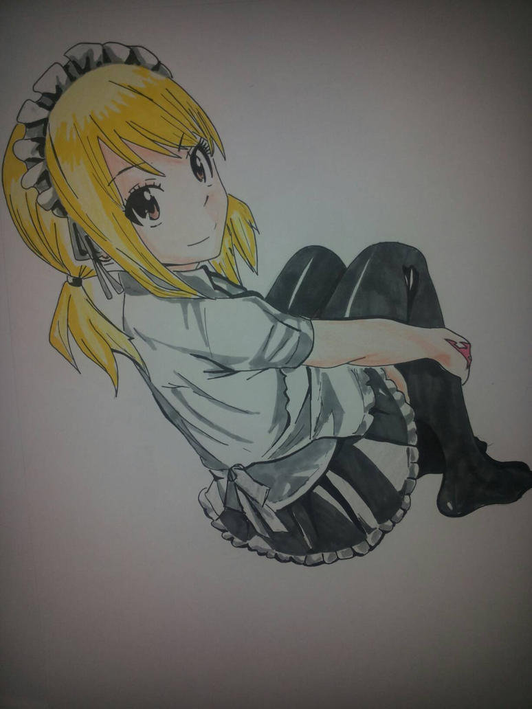 Lucy Heartfilia First job by Mirza91