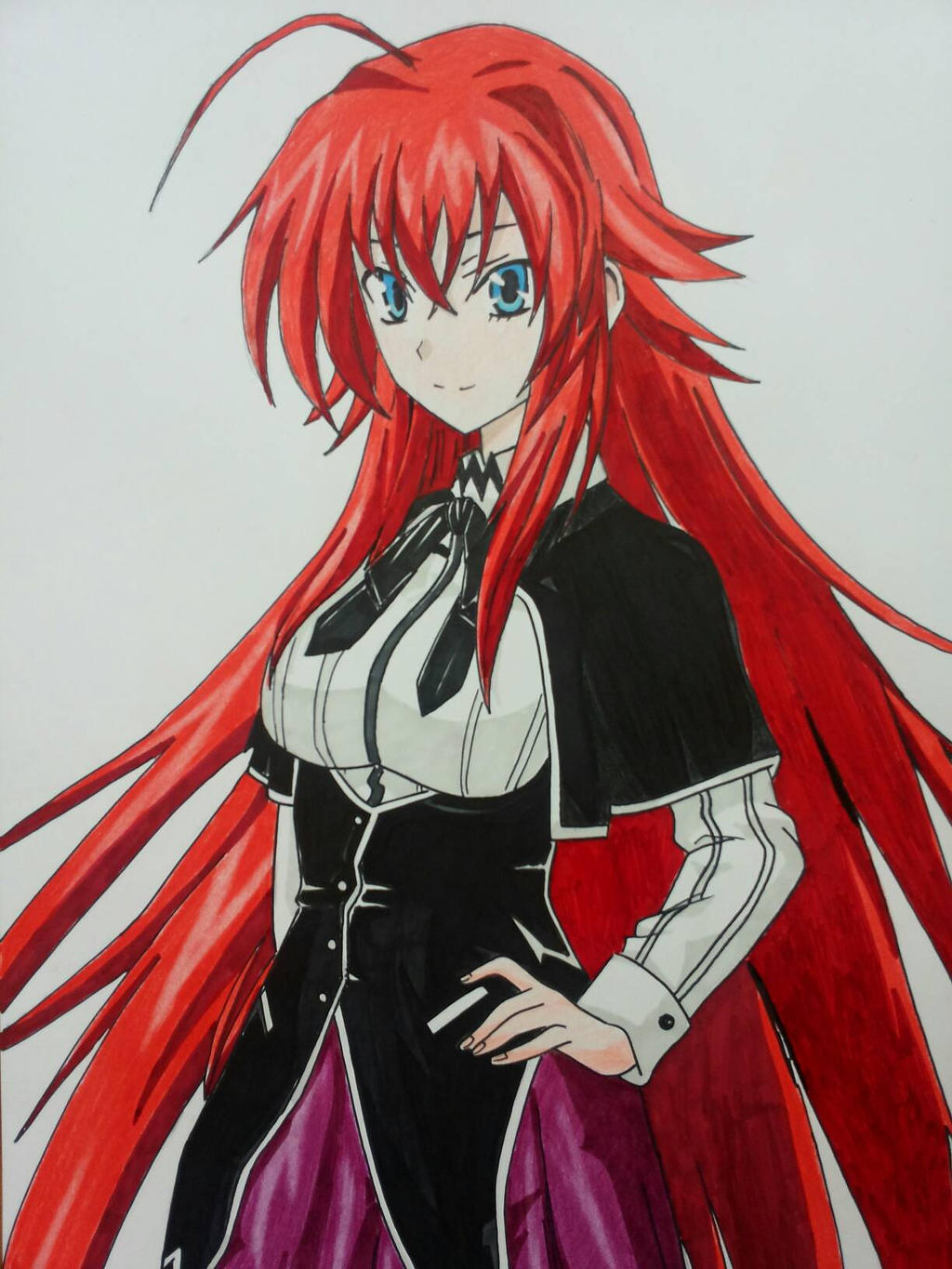 Rias Gremory ^^ by Mirza91