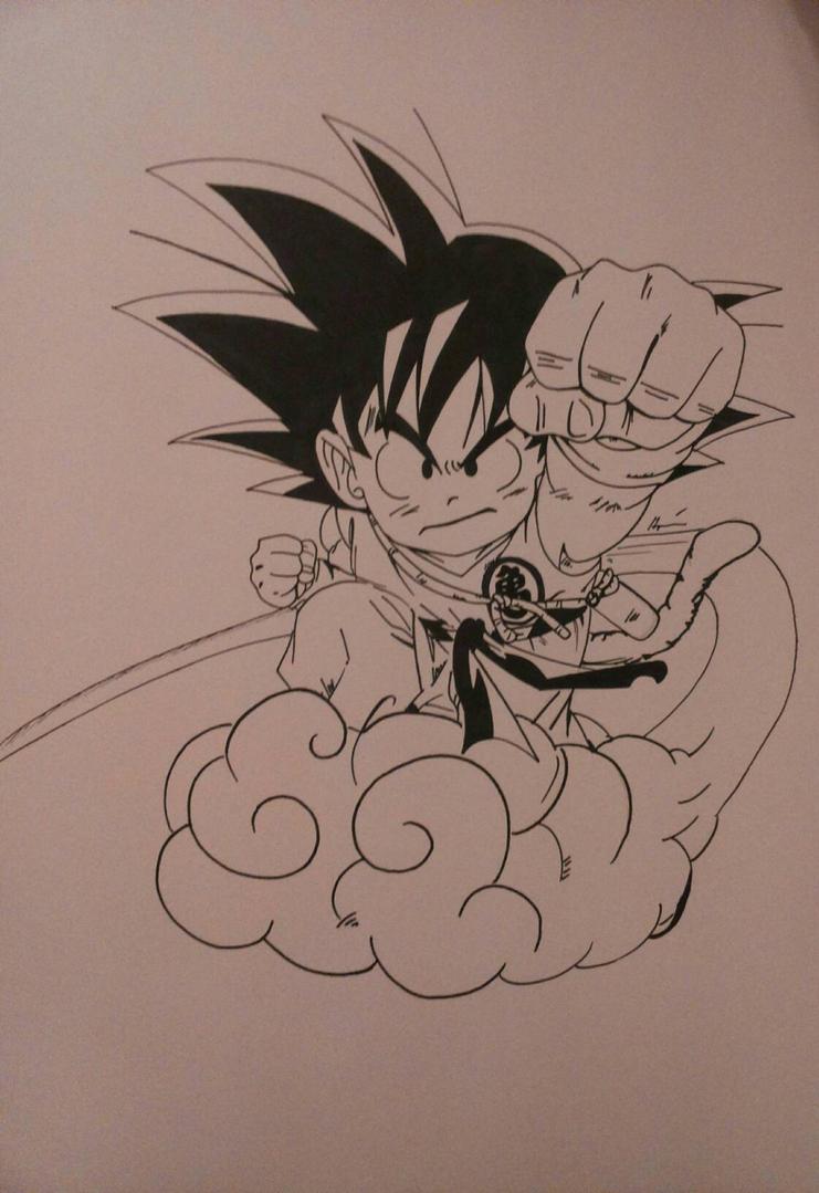 Goku og-series by Mirza91