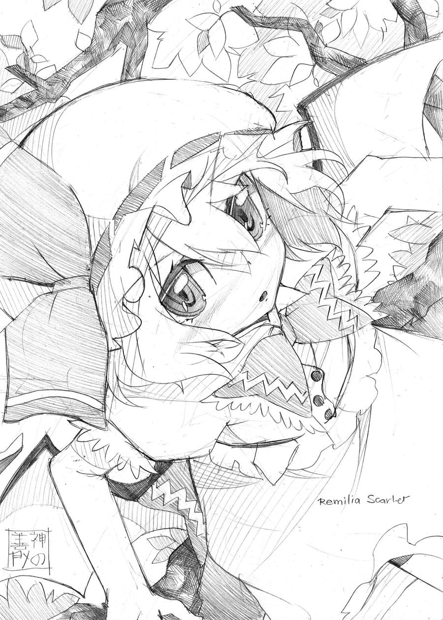 Remilia Scarlet by EUDETENIS