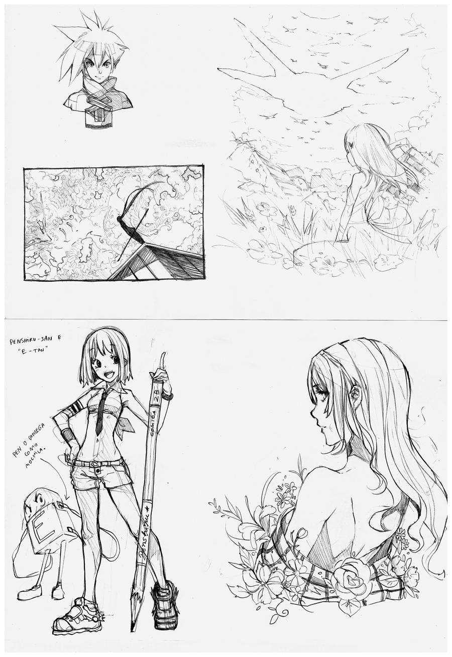 Weekly Pencil 2 by EUDETENIS