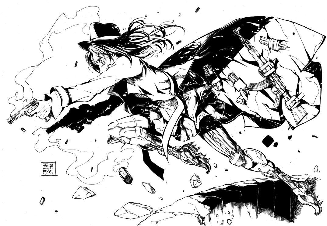 Gunslinger Girl by EUDETENIS