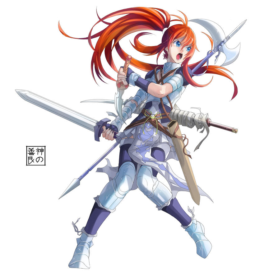 Weapon Master by EUDETENIS