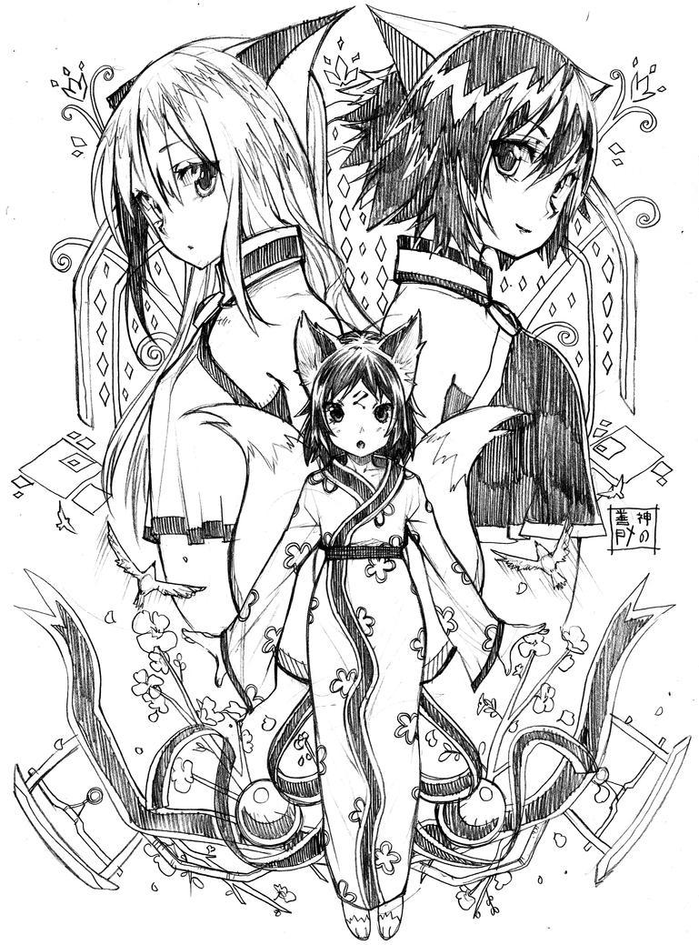 Kitsune no boken by EUDETENIS
