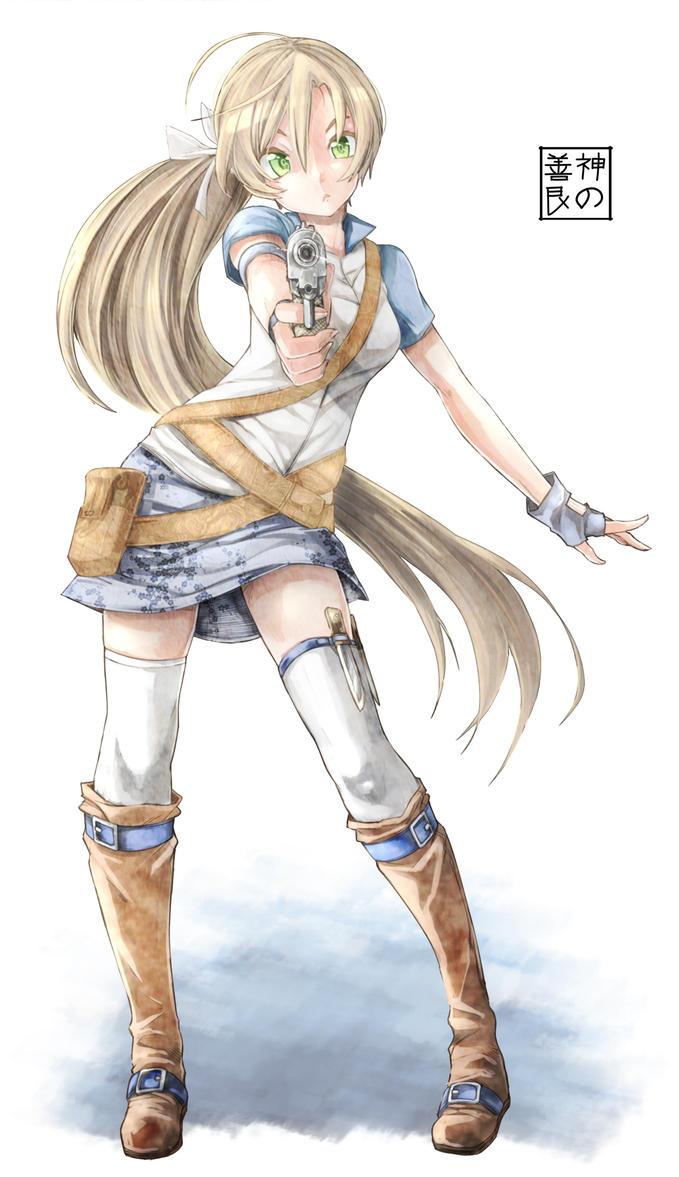 Spear Maiden by EUDETENIS
