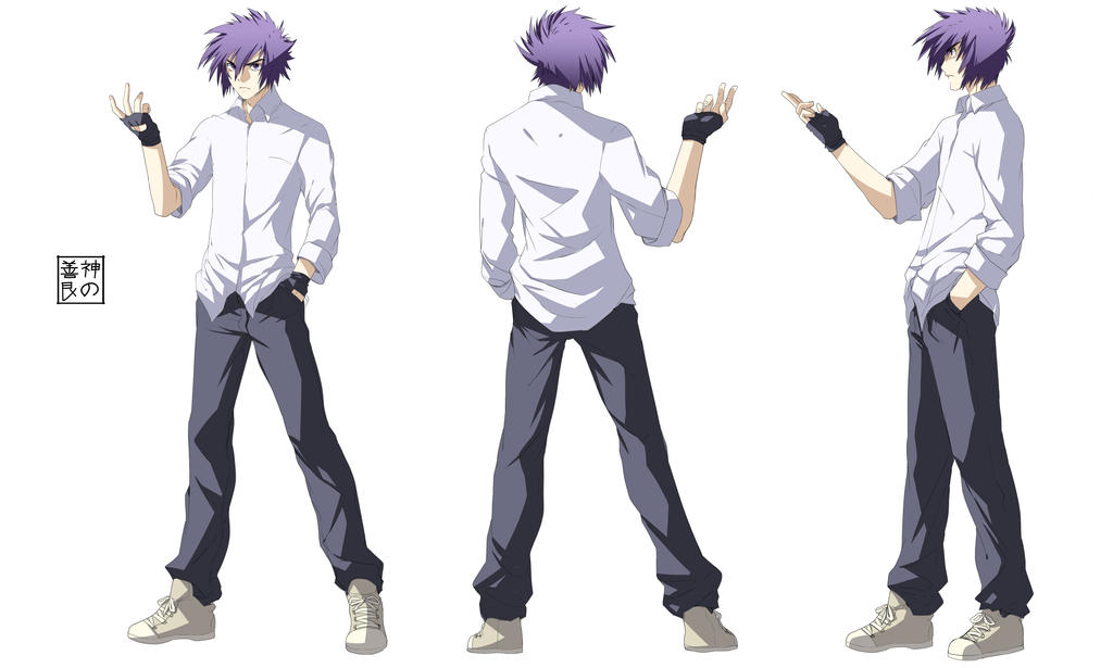 Bad Anime Character Design : Lance valen character sheet by eudetenis on deviantart