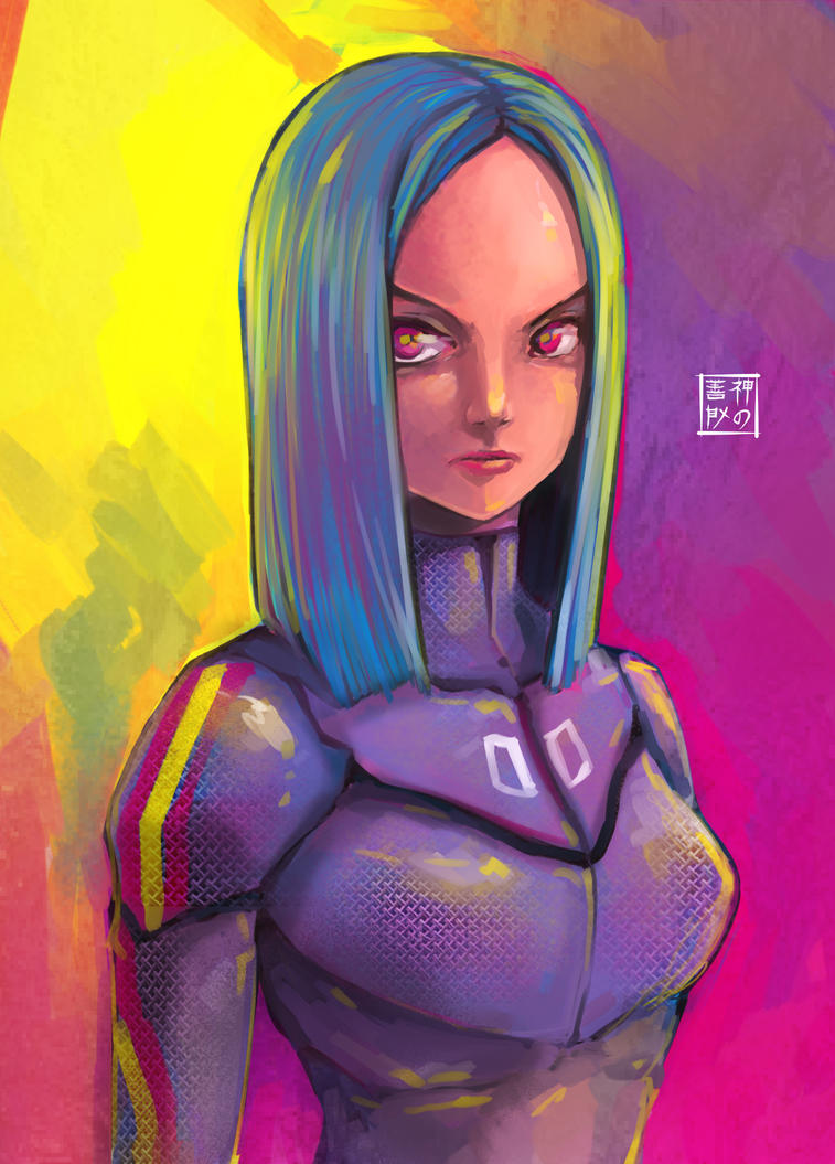 Random Cmyk Girl 00 by EUDETENIS