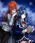 Makise and Yukino