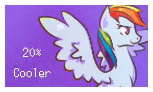 MLP Rainbowdash Stamp -Animated- by Stickaroo