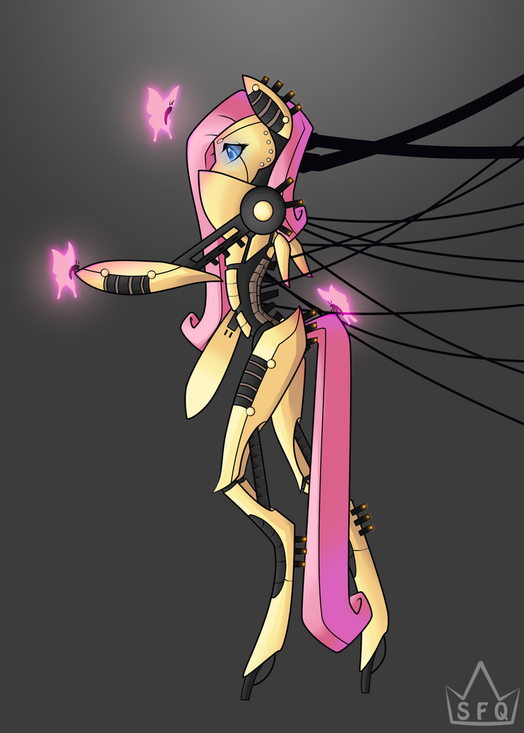 Fluttershy 2.0 by StickFigureQueen