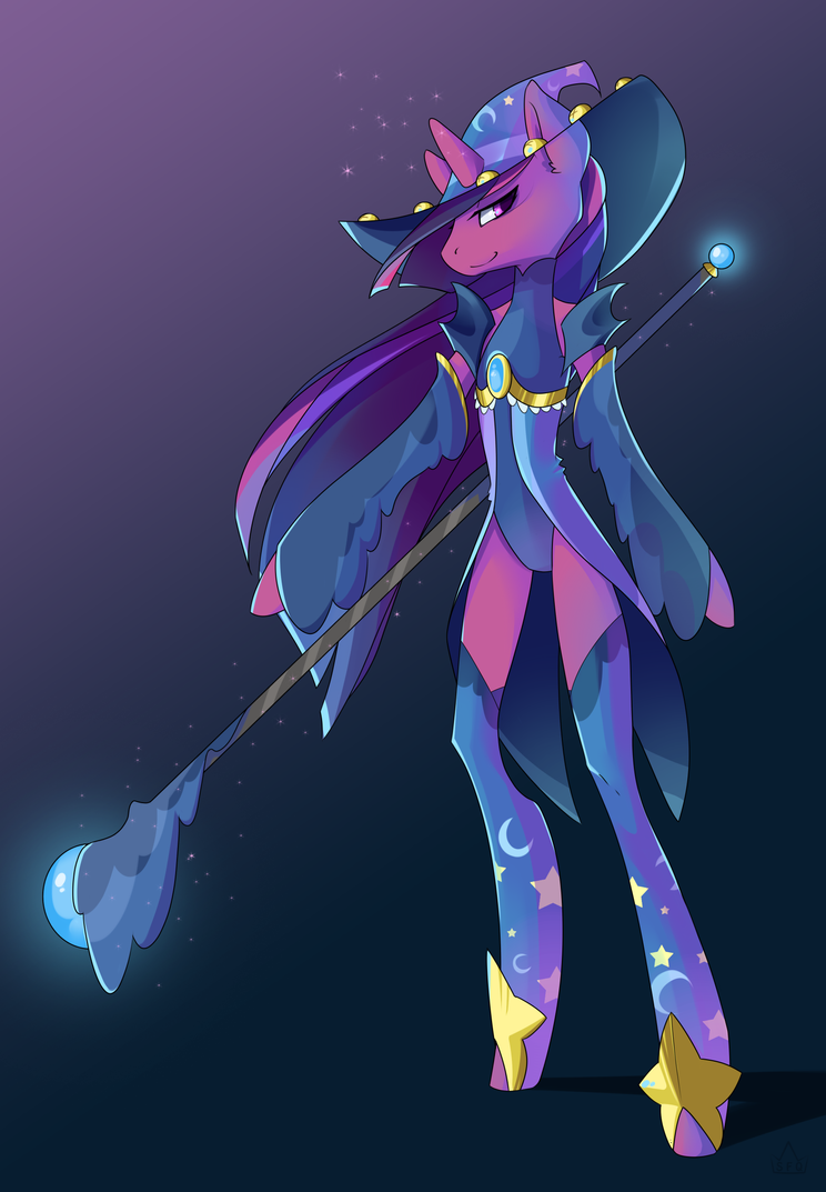 MLP Black Mage by Stickaroo