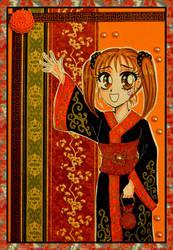 Angelica postcard