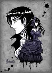 Ink drops by heiseihi
